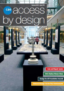 Access by Design Journal front  cover